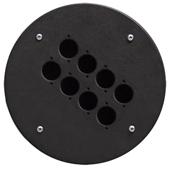 Centre Connection Plate with 8 x D-size Hole