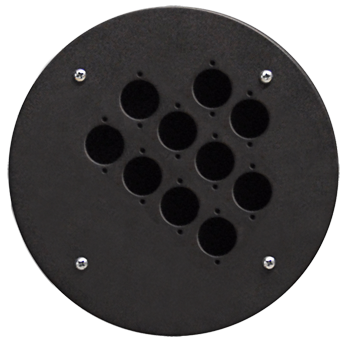 Centre Connection Plate with 10 x D-size Hole