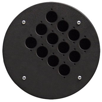 Centre Connection Plate with 12 x D-size Hole