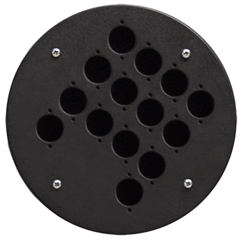 Centre Connection Plate with 14 x D-size Hole