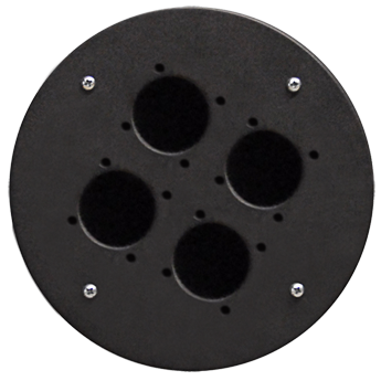 Centre Connection Plate with 4 x Schuko Hole