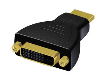 Adapter HDMI Male to DVI Female - Single Link